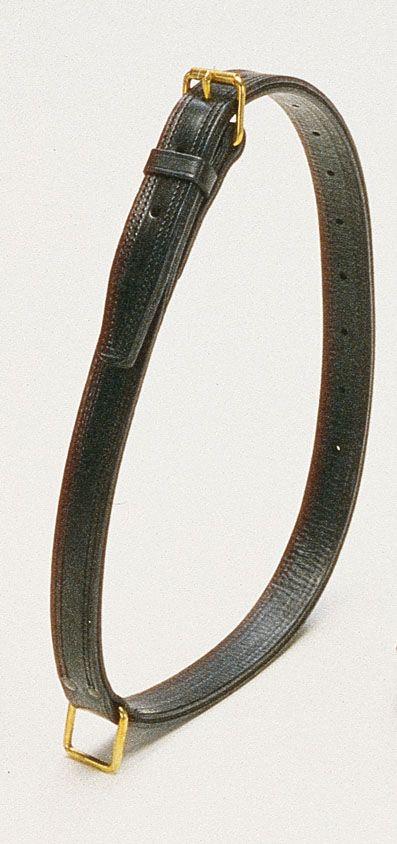 Ошейник для лошади W-Collar с золотом