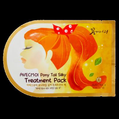 Корейская шапочка-маска для лечения секущихся кончиков волос Avec Moi