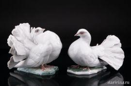 Голубь и голубка, Rosenthal, Германия, 1960 гг., артикул 01803
