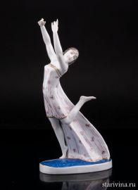 Танцовщица АртДеко, Karl Ens, Германия, 1920-30 гг., артикул 01808