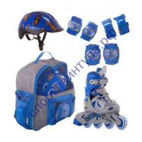 Роликовый комплект PW-116 Blue Teddy