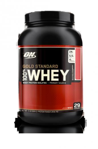 OPTIMUM NUTRITION 100% Whey Protein Gold standard 2 lb (907гр.)   1-2 дня