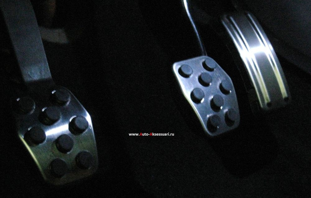 Накладки на педали Ford Focus II, III Механика Алюминиевые