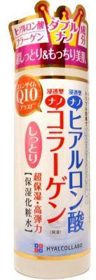 Глубокоувлажняющий лосьон с Q10 и наногиалуроновой кислотой Hyalcollabo  Meishoku