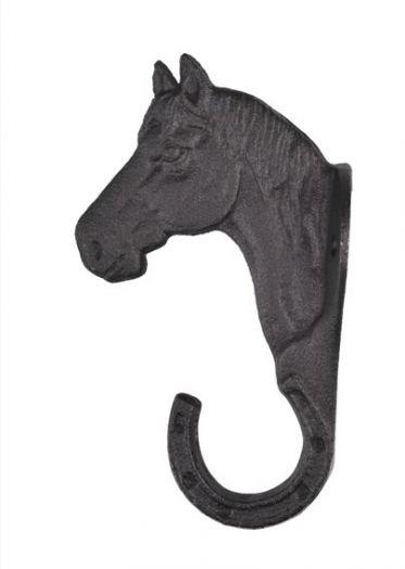 """Крючок голова лошади """"анфас"""" HKM."""