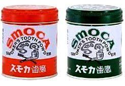"""011013 """"Smoka"""" Pink - Зубной порошок для курильщиков со вкусом мяты и зимней зелени, 155 г."""