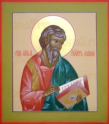 Икона Матфей, апостол (рукописная)