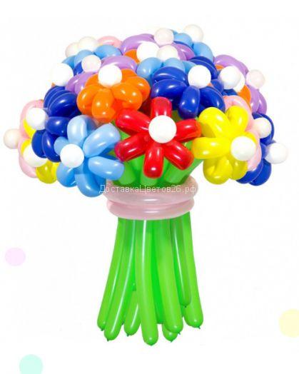 Цветы из воздушных шаров. Цена за шт.