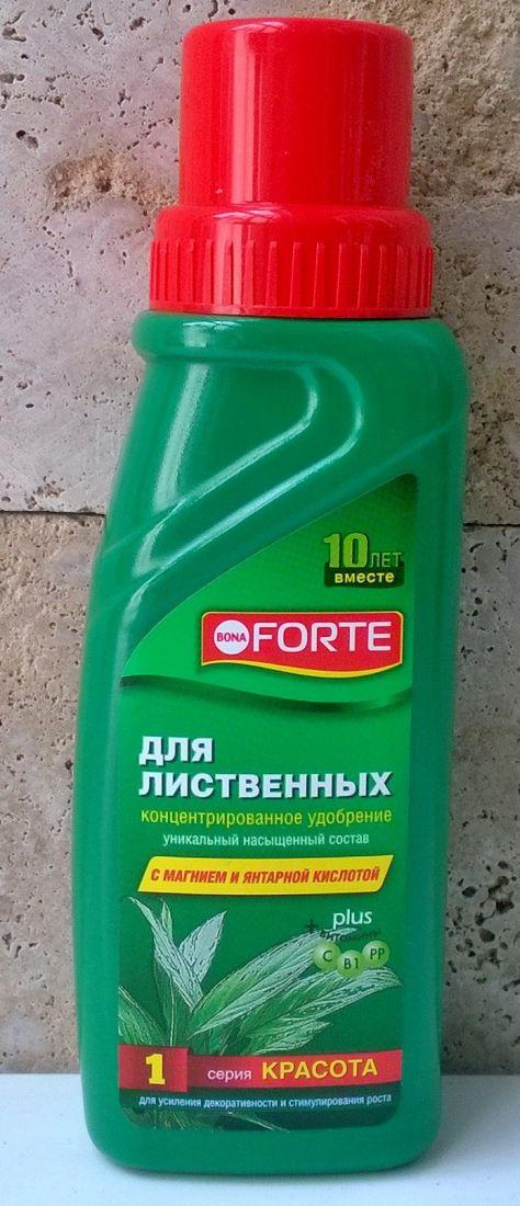 """Удобрение Bona Forte """"Красота"""" для декоративно-лиственных 285мл"""