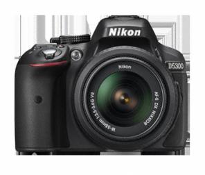 Nikon D5300 kit 18-55mm f/3.5-5.6G AF-S