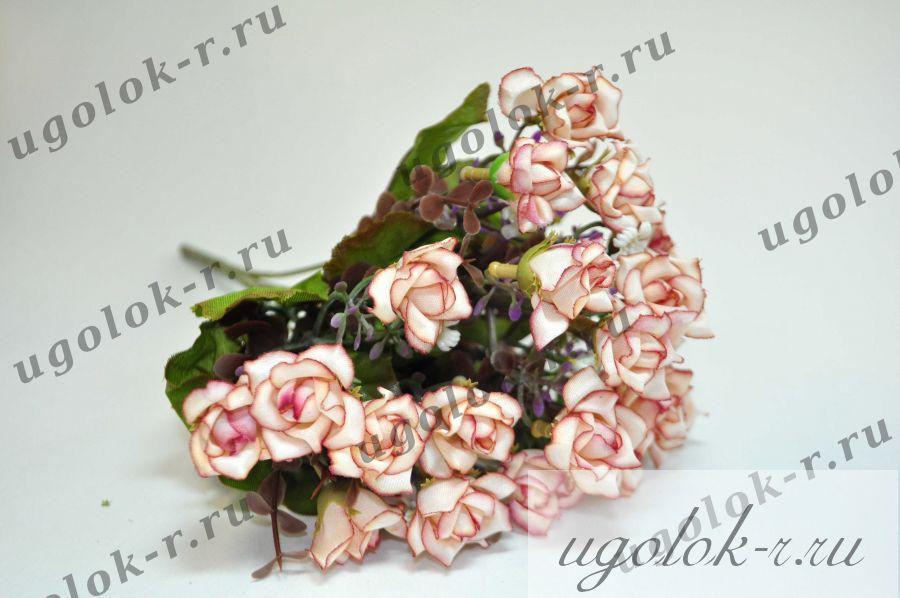 Цветы букетом