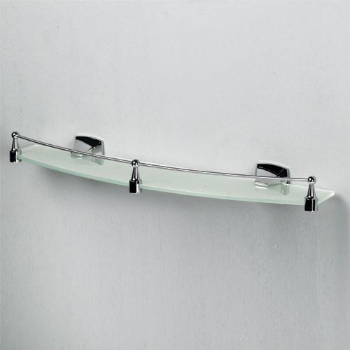 WasserKraft К-2524 Полка стеклянная с бортиком
