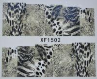 Водная наклейка для дизайна ногтей XF 1502