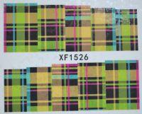 Водная наклейка для дизайна ногтей XF 1526