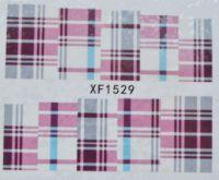 Водная наклейка для дизайна ногтей XF 1529