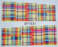 Водная наклейка для дизайна ногтей XF 1531