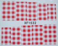Водная наклейка для дизайна ногтей XF 1532
