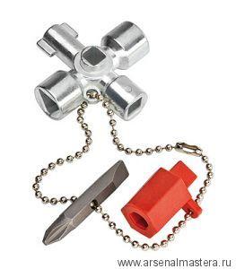 Ключ для электрошкафов KNIPEX 00 11 02
