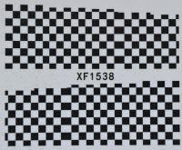 Водная наклейка для дизайна ногтей XF 1538