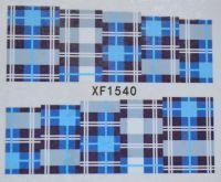 Водная наклейка для дизайна ногтей XF 1540
