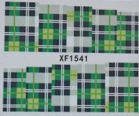 Водная наклейка для дизайна ногтей XF 1541