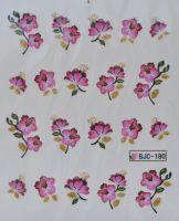 Водная наклейка для дизайна ногтей BJC - 180