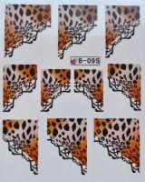 Водная наклейка для дизайна ногтей B 95
