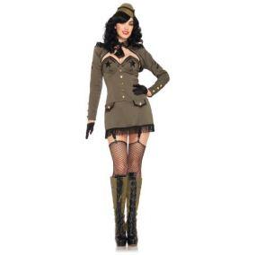 Сексуальный костюм военной