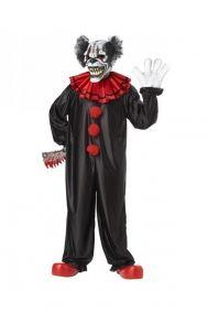 Костюм черного клоуна