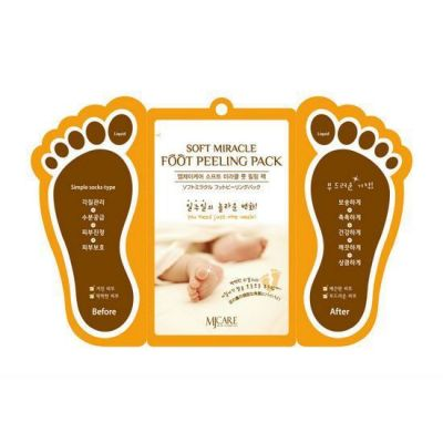 Корейский пилинг для ног Foot peeling pack