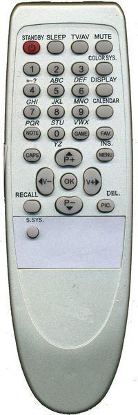 Пульт для SHIVAKI RC-1153012 (TV) (STV-2137)