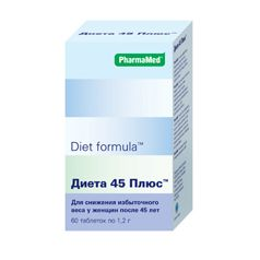 Диет формула диета 45 плюс N60 табл