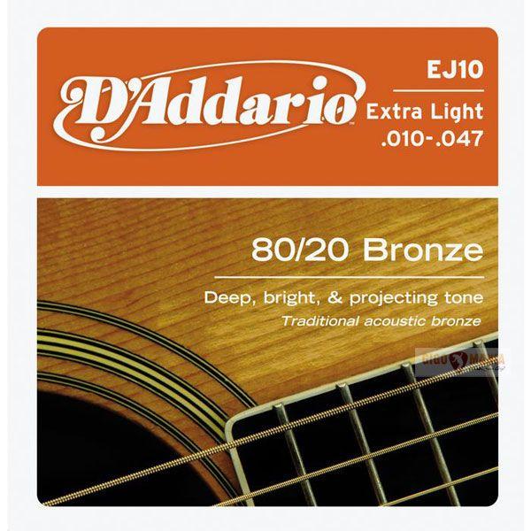 D`ADDARIO EJ10 (010-047) Струны для акустической гитары