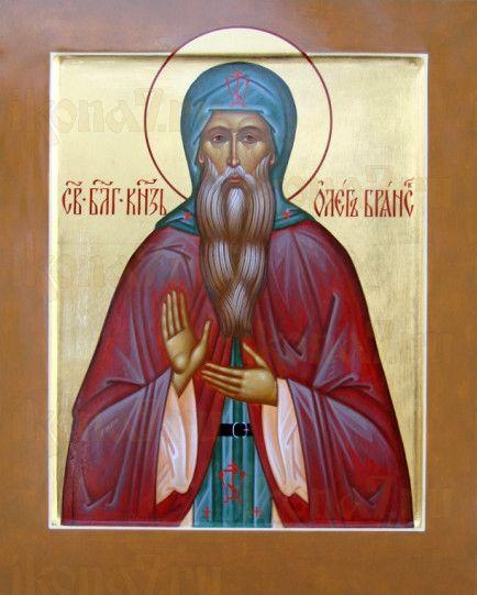 Икона Олег Брянский (рукописная)