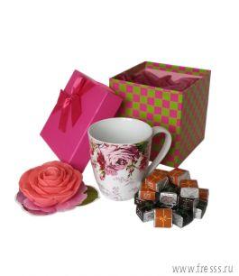 """Подарочный набор """"Чайная роза"""""""