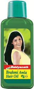 Масло для волос Брами&Амла Байдьянатх / Baidyanath Brahmi Amla Hair Oil