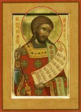 Икона Роман Сладкопевец (рукописная)