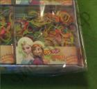 """Набор для плетения Rainbow Loom Bands """"DIY-POP Frozen"""" 200 шт. резинок ,крючок, рогатка, клипсы (7)"""