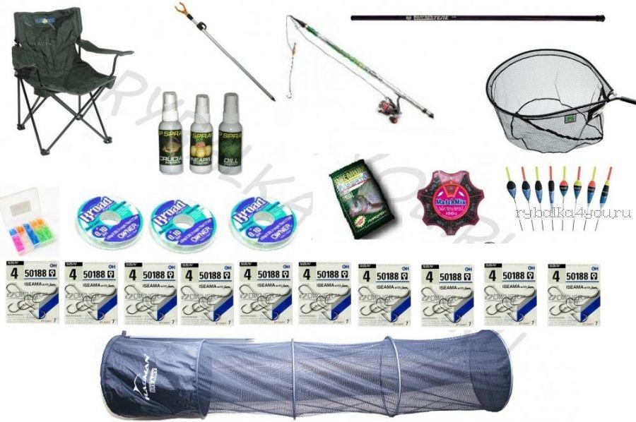 Поплавочный рыболовный комплект Carbon Premium 400