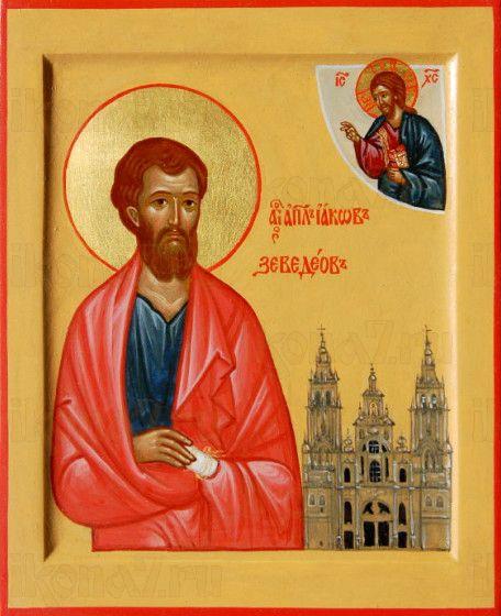 Икона Иаков Заведеев, апостол (рукописная)