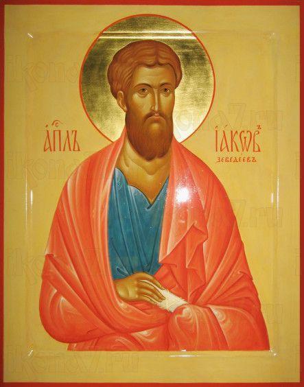 Иаков Заведеев, апостол (рукописная икона)