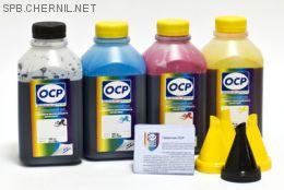 Чернила OCP для принтера HP Deskjet Ink Advantage 3525, 4515, 4615, 4625, 5525, 6525 (BK35, C343, M343, Y343) Safe Set, комплект 500 гр. x 4