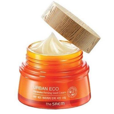 Корейский крем с экстрактом новозеландского льна Urban Eco Harakeke Firming Seed Cream Saem