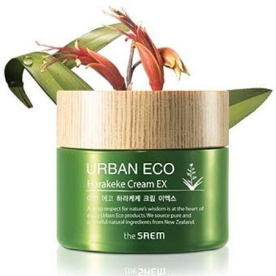 Корейский питательный крем с экстрактом новозеландского льна Urban Eco Harakeke Cream EX 60ml Saem