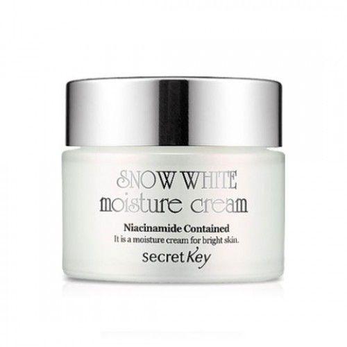 Корейский крем для лица увлаж., отбелив. Snow White  Moisture Cream Secret Key
