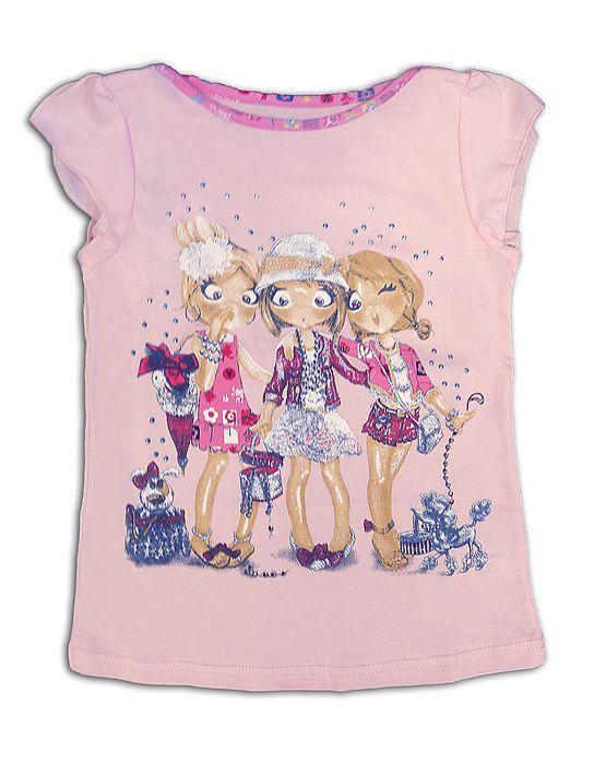 Блуза для девочки Глянец