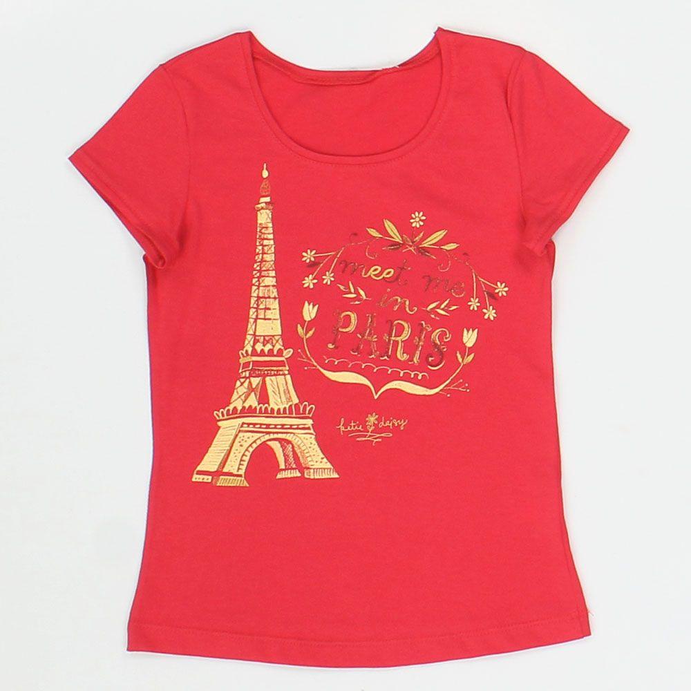 Блуза для девочки Эйфелева башня