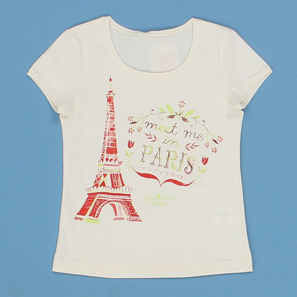 Блуза для девочки Парижанка