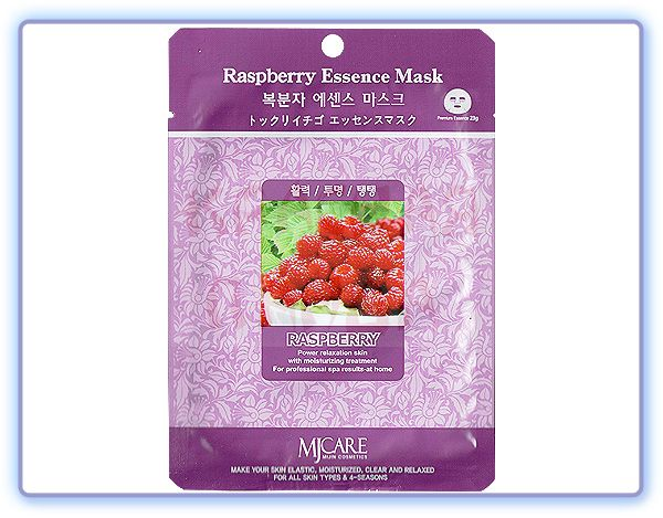 Маска тканевая малина Raspberry Essence Mask