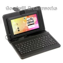 Сумка чехол с Русской клавиатурой для Tablet PC 7""